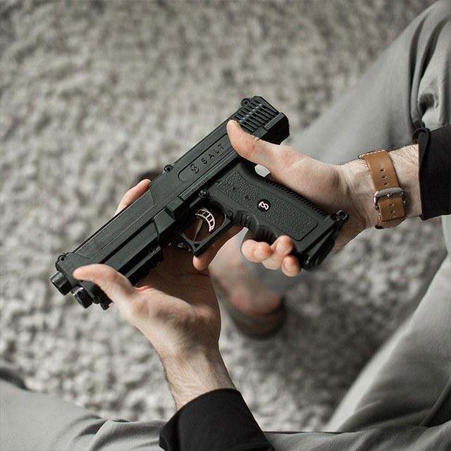 Salt Self Defense Gun